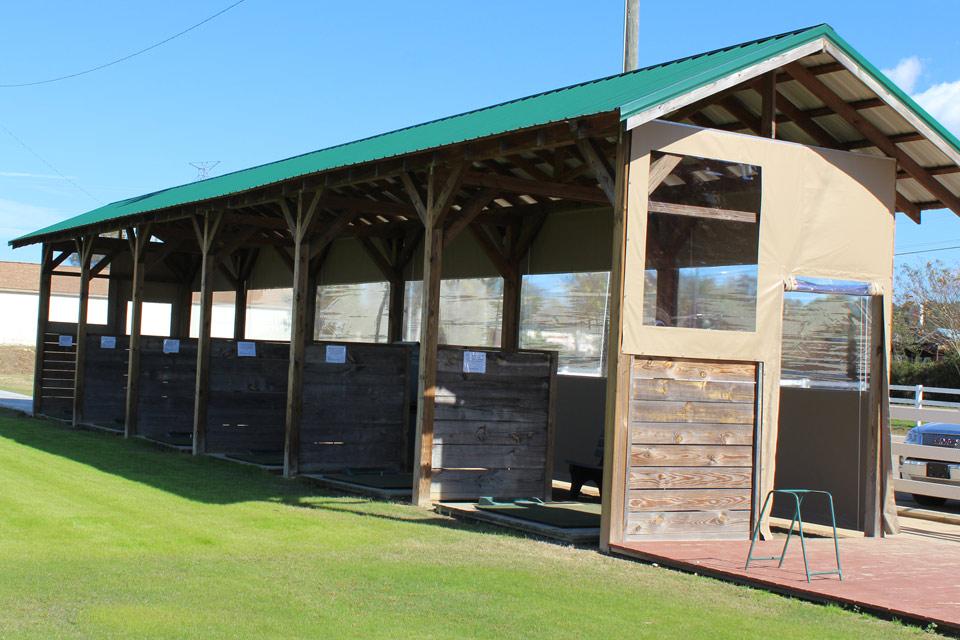 Covered Golf Practice Range