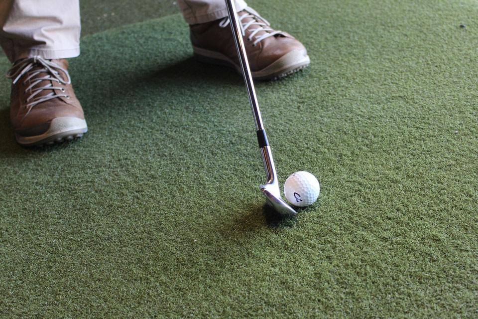 Indoor Golf Hitting Bay Chattanooga